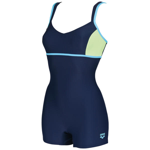 Arena W Venus combi lahkeellinen (navy/Shiny Green/Sea Blue)