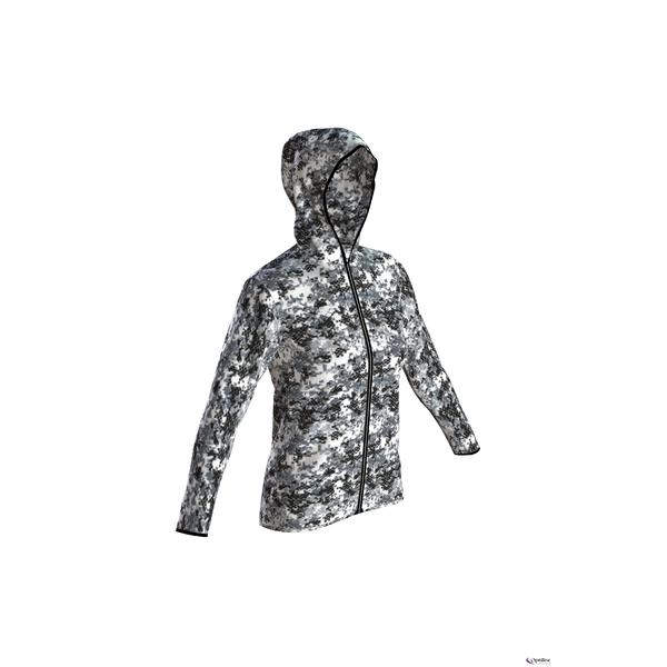W Gym Hooded Spacer F/Z jktL