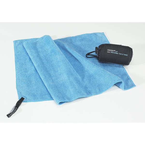 Microfiber Terry Towel blue M